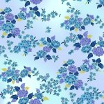 GRACEFUL GARDEN PERIWINKLE/GOLD