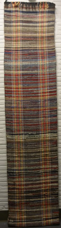 RAG CARPET ANTIQUE DOUBLE STRIPED TWEEDY NEUTRALS ROLL