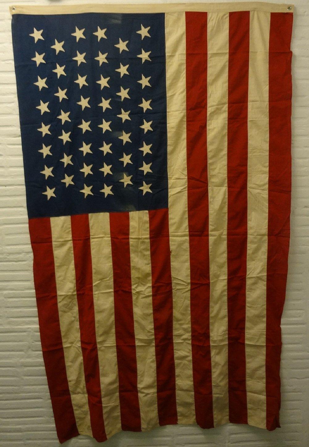 American Antique Flag 46 Stars Oklahoma