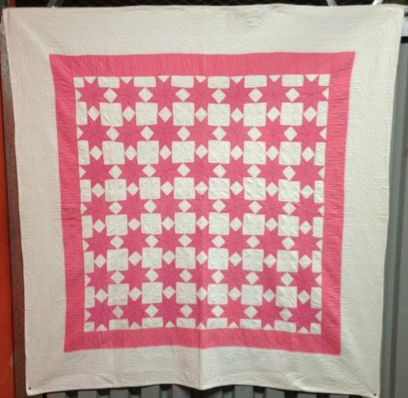 49 STARS ANTIQUE QUILT