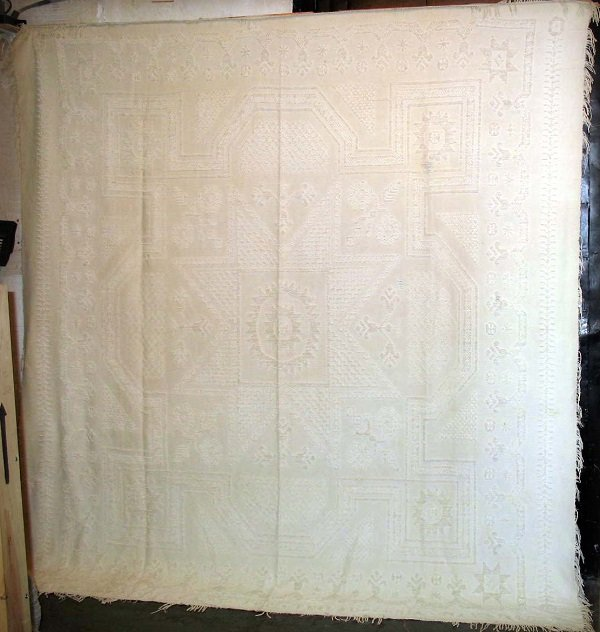 PHILADELPHIA WOVEN ANTIQUE CANDLEWICK for William and Jane Stuart, Bolton type