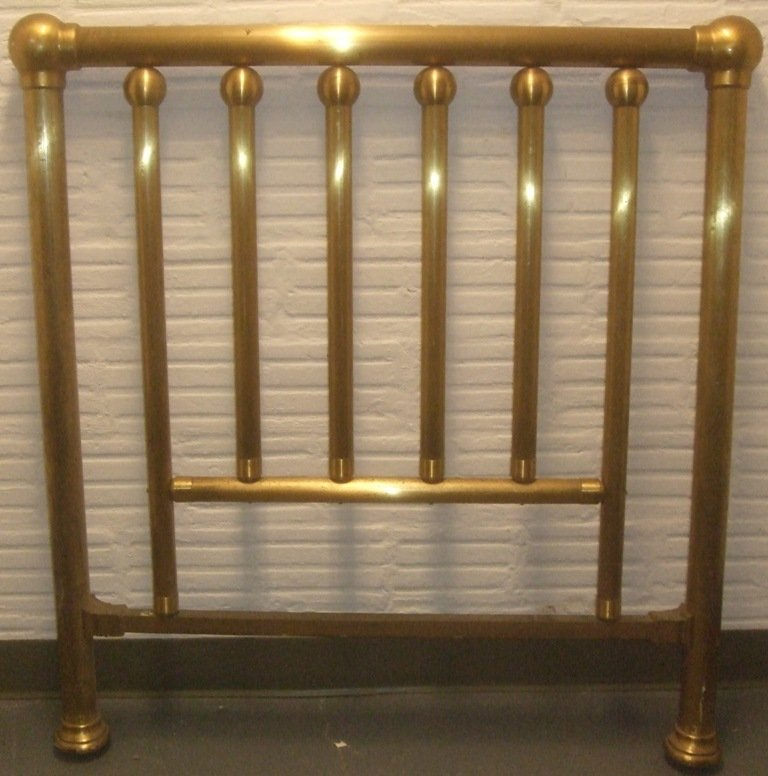 BRASS BED FRAME, double size