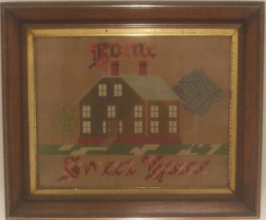 ANTIQUE MOTTO - 'HOME SWEET HOME'