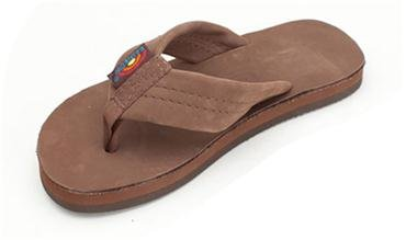 Rainbow Youth Premier Leather Thick Strap - Expresso