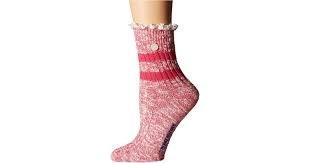 Birkenstock Fashion Slub Lace Socks - Barberry Sorbet