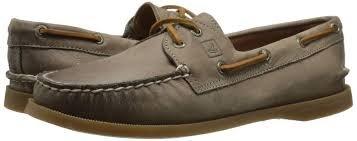 *Sperry Women's A/O 2 Eye Boat Shoe - Weathered Worn Greige