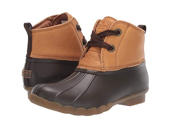 *Sperry Women's Saltwater 2 Eye Boot - Tan/Brown