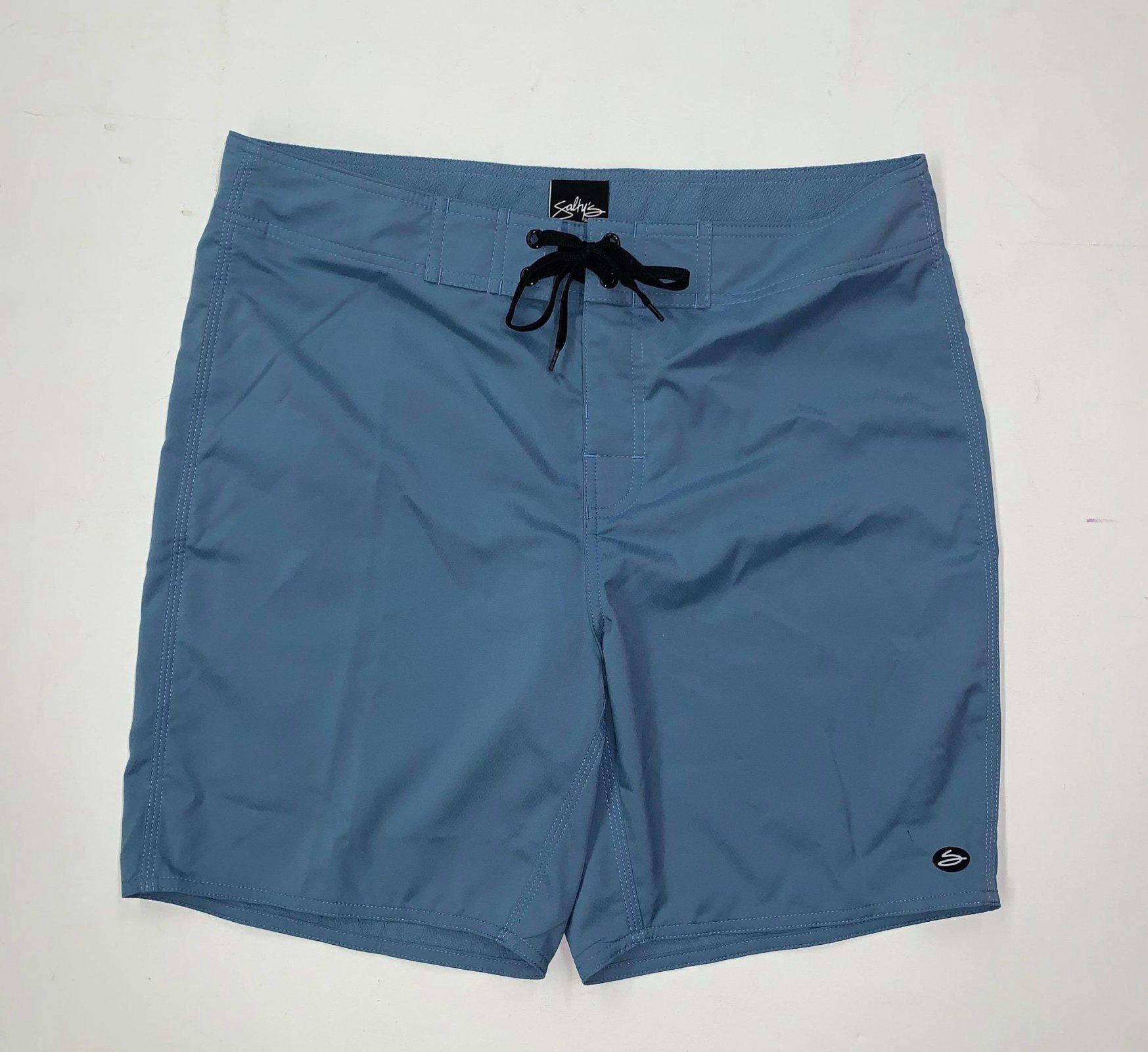 Salty's Brand Men's Diamond Dave II Boardshorts - Blue Heaven