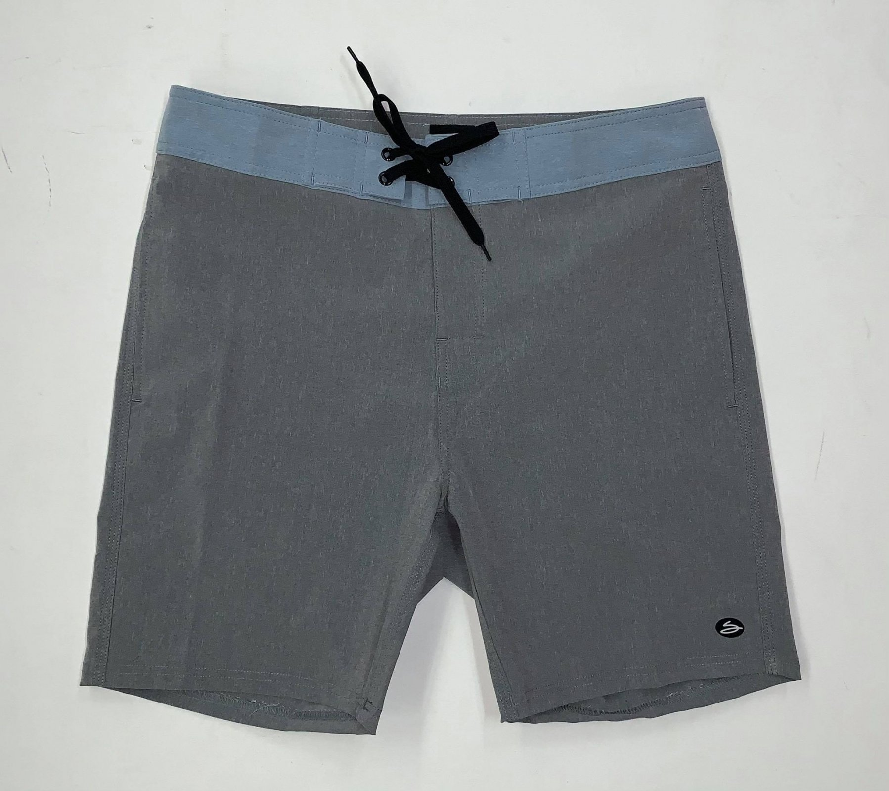 Salty's Brand Men's Endless Summer Boardshorts - Charcoal/Blue