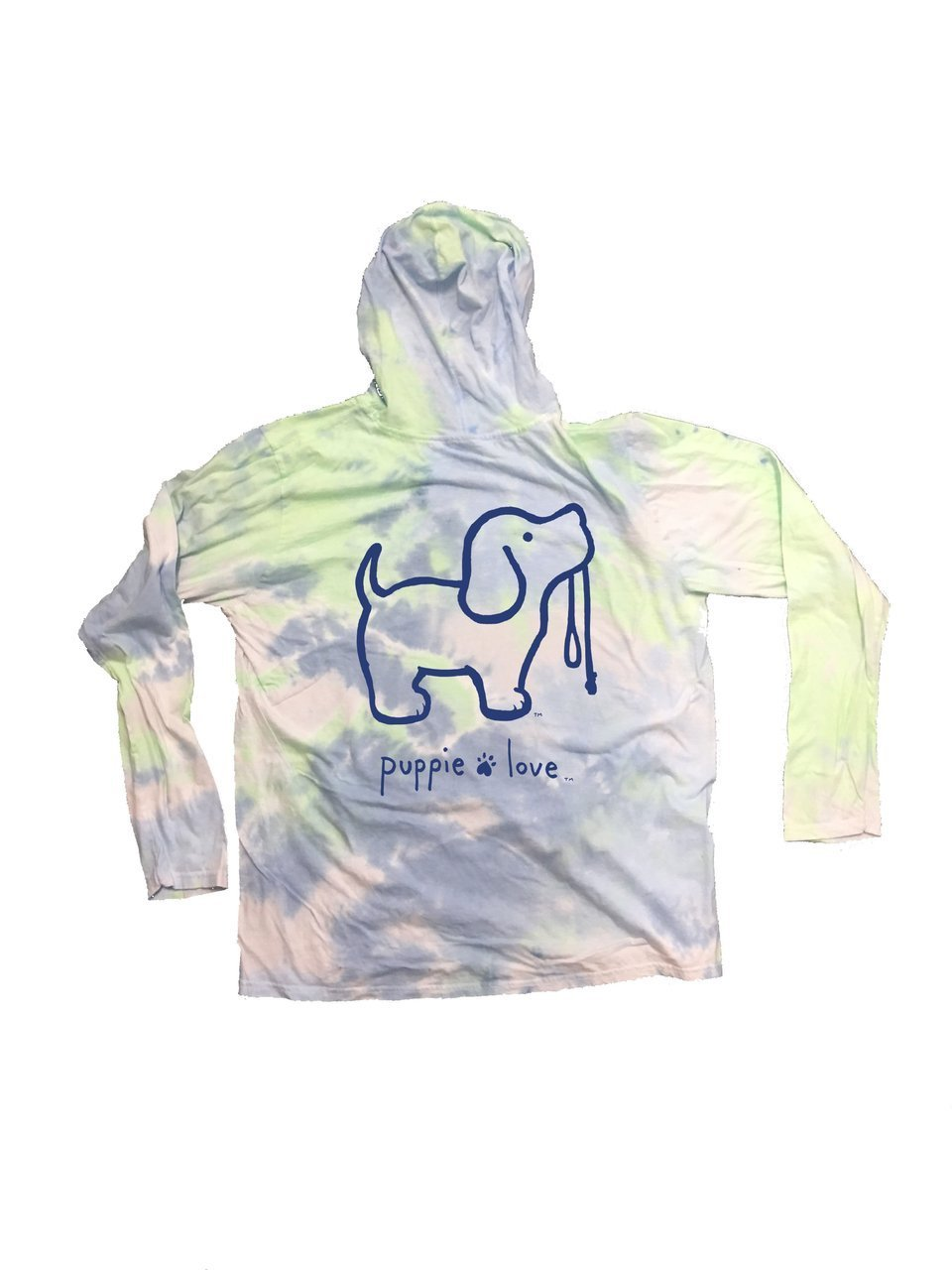 Adult PL Peace Pup Dream Green L/S Hoodie