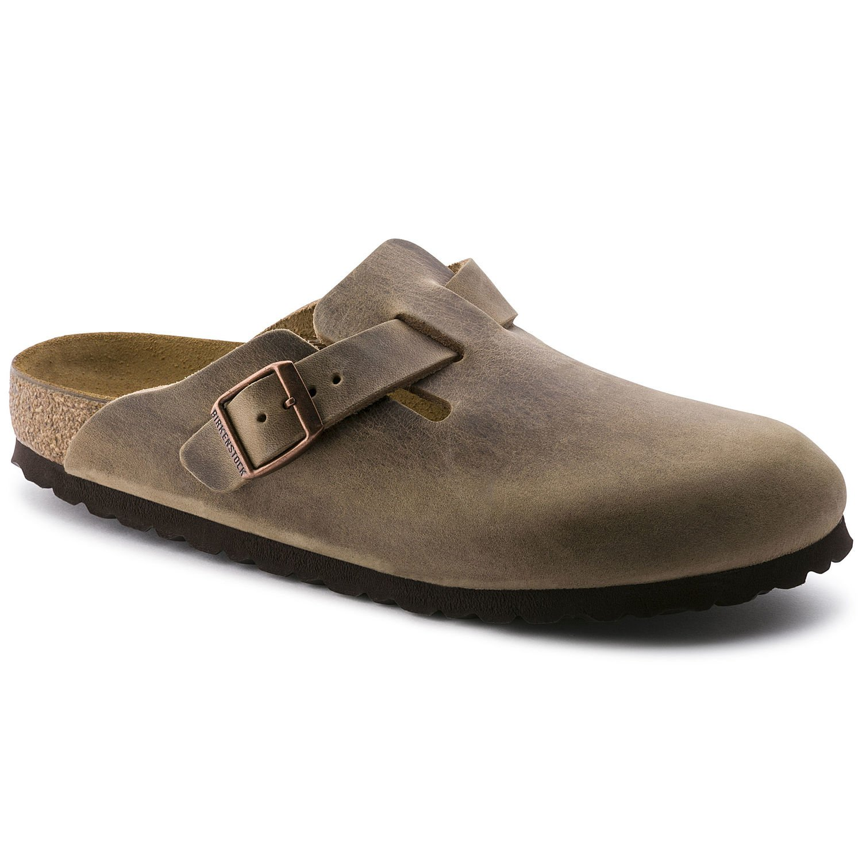 *Birkenstock Unisex Boston (HFB/Oiled Leather) - Tobacco Brown (819)
