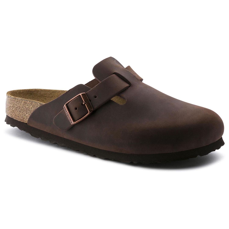 *Birkenstock Unisex Boston (SFB/Oiled Leather) - Habana (719)