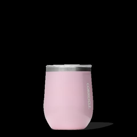 Corkcicle 12 oz. Stemless- Rose Quartz