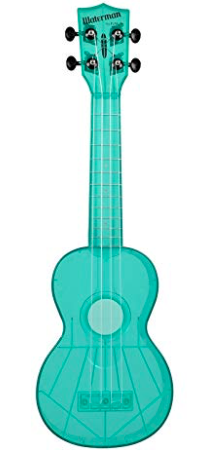 Kala - Fluorescent Blue Soprano Waterman Uke