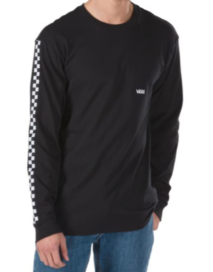 Side Check L/S T-Shirt