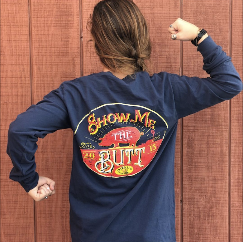 Show Me The Butt L/S T-Shirt