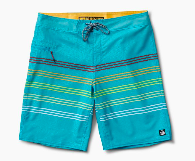 Out There Board Short - Blue