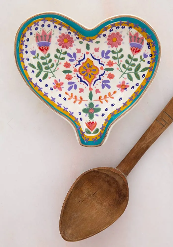 *Natural Life Spoon Rest - Heart