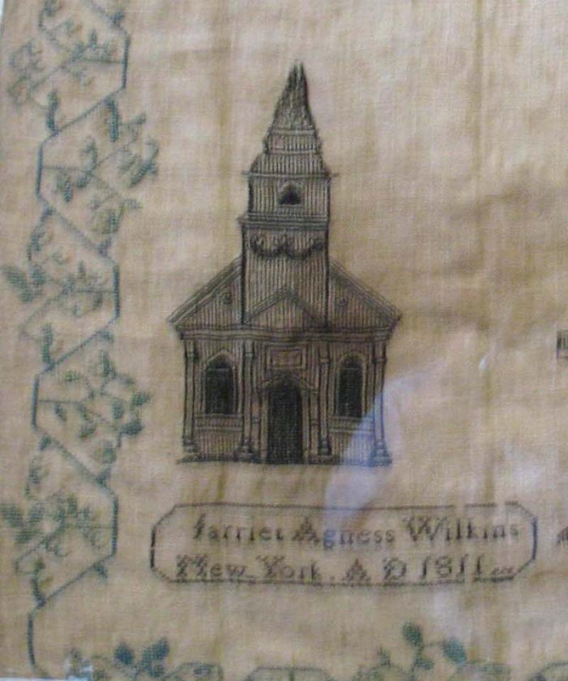 NEW YORK CITY SAMPLER 1811 HARRIET WILKINS