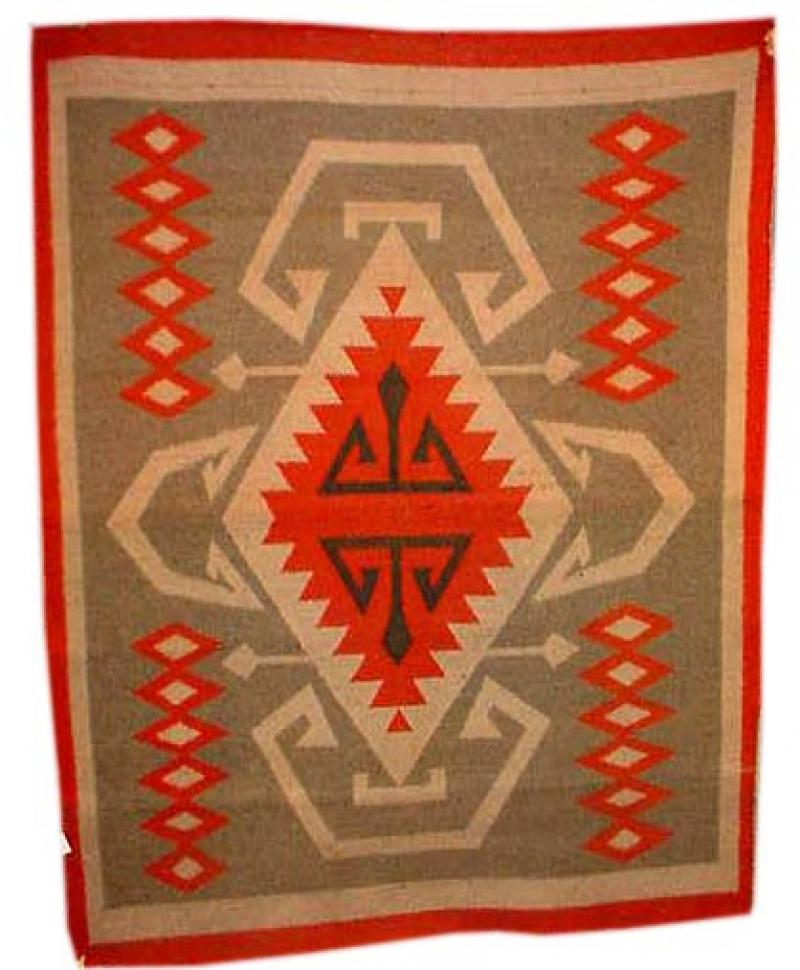 RARE OREGON CITY RUG OR BLANKET