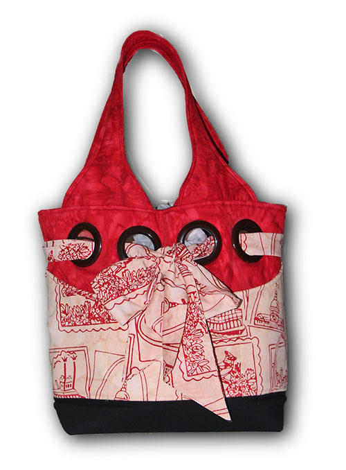 The St. Louis Bag in Red