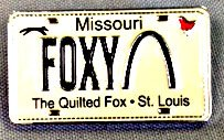 Foxy Lapel Pin