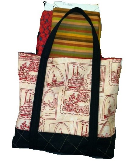 Red St. Louis Tote