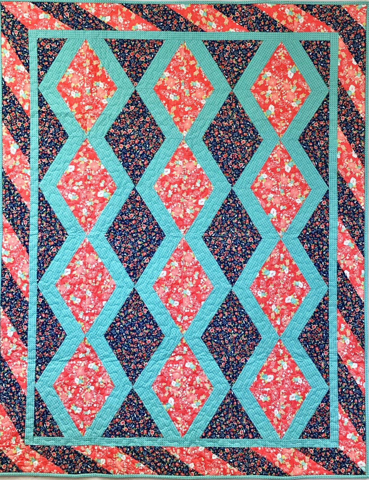 Clara Tuppence Quilt Kit