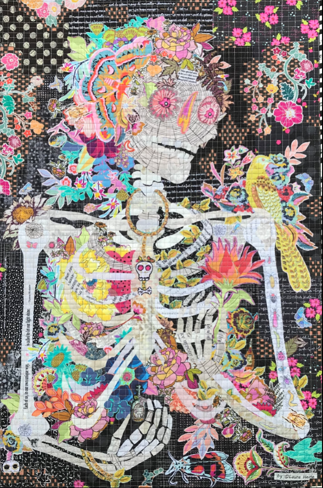 Dee Ceased Collage by Laura Heine