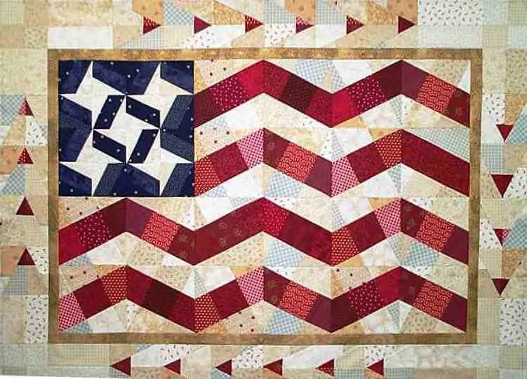 Flying Free X-Blocks Quilt Pattern