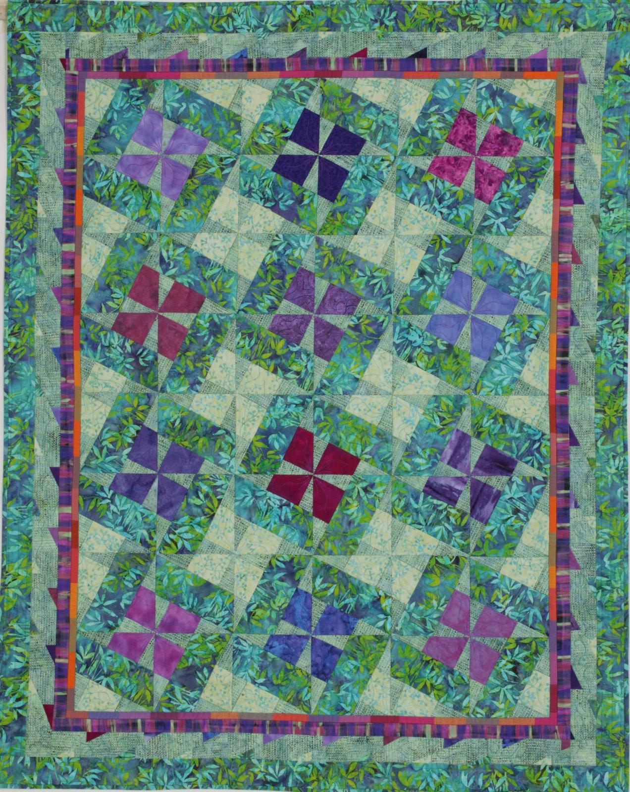 Penelope X-Blocks Quilt Pattern