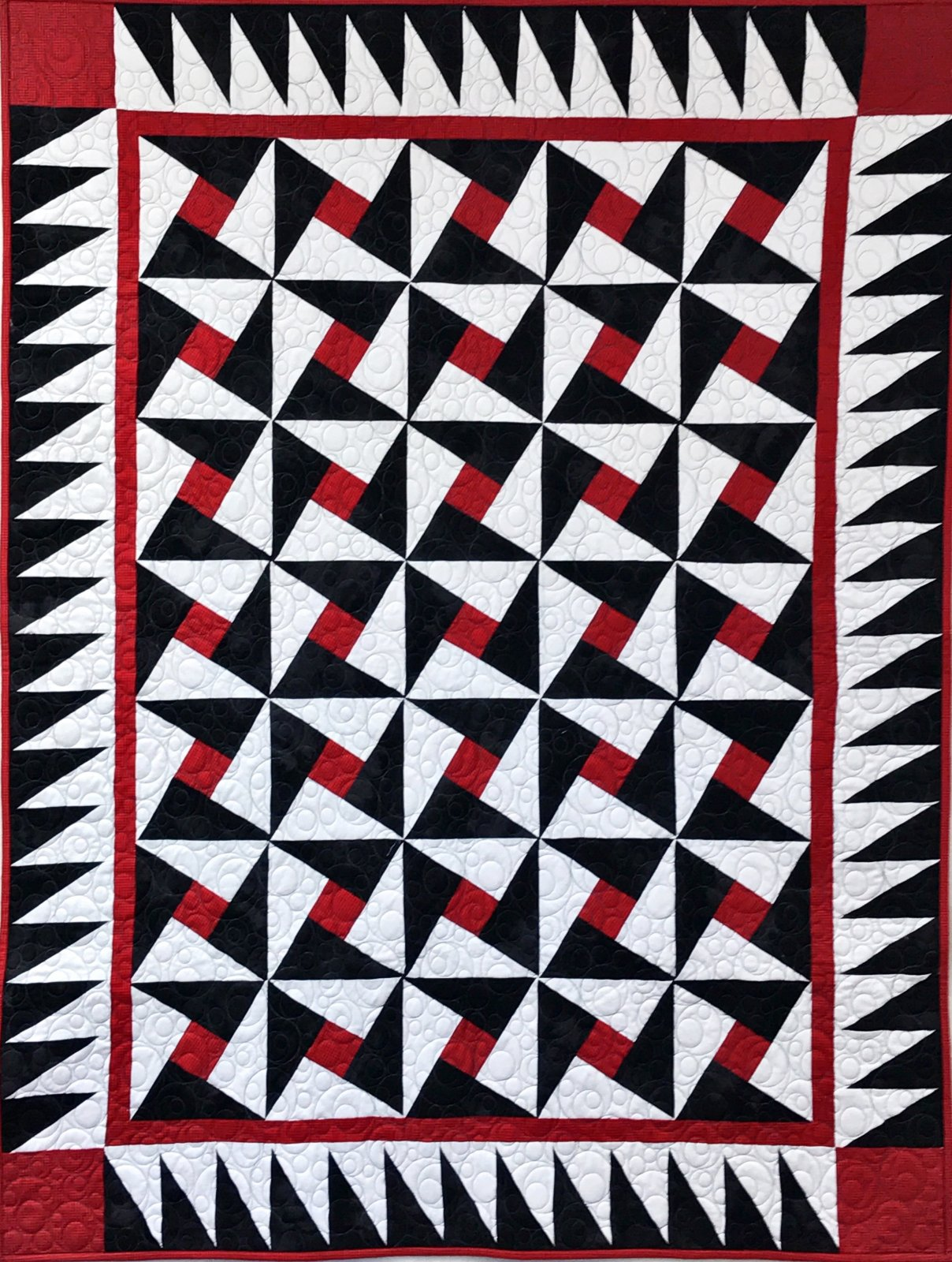 Tuxedo X-Block Pattern