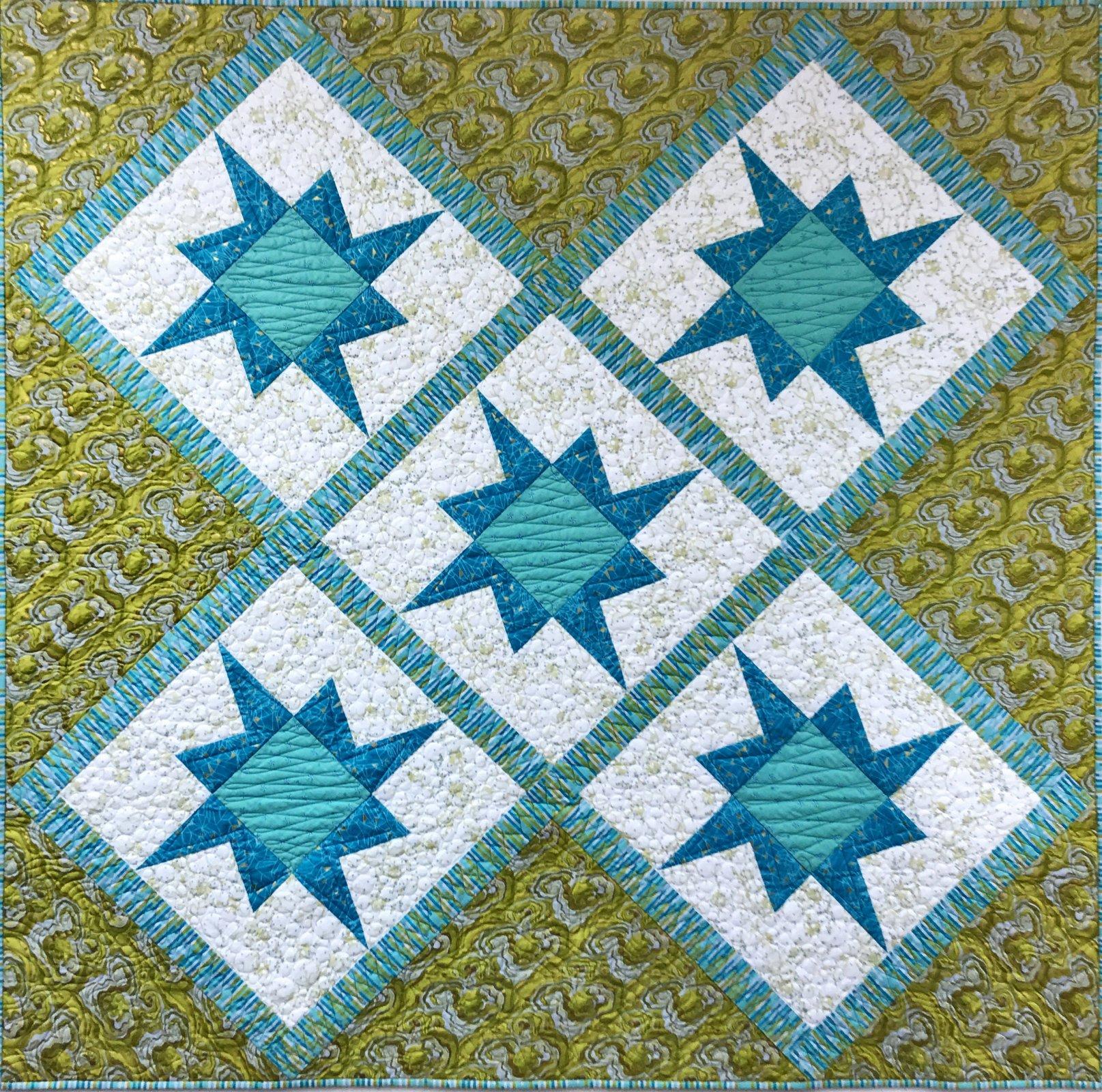 Victoria Borealis X-Block Pattern