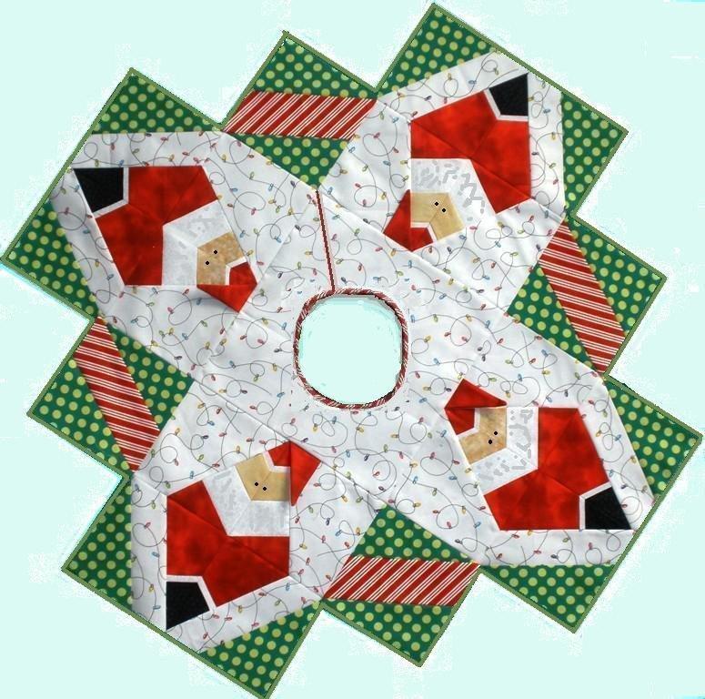 Santa Baby X-Block Pattern