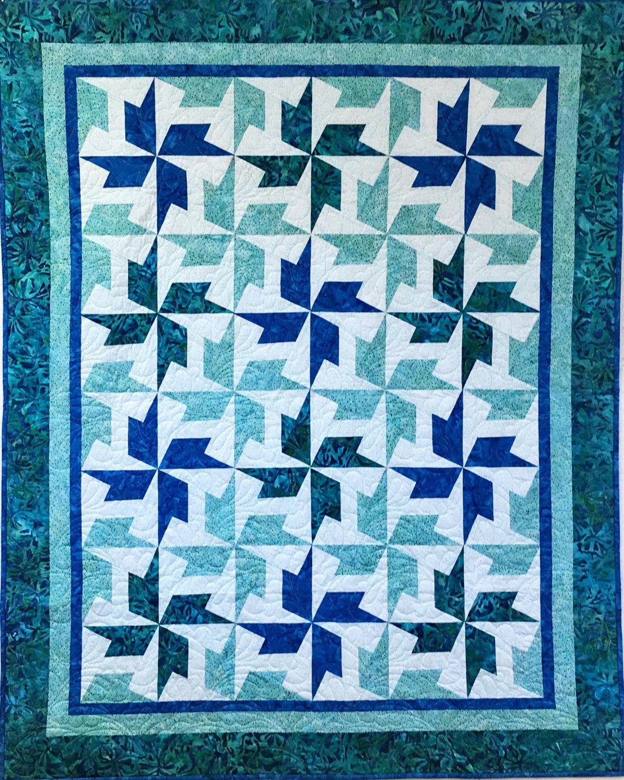 Thornton Water Batik Quilt Kit