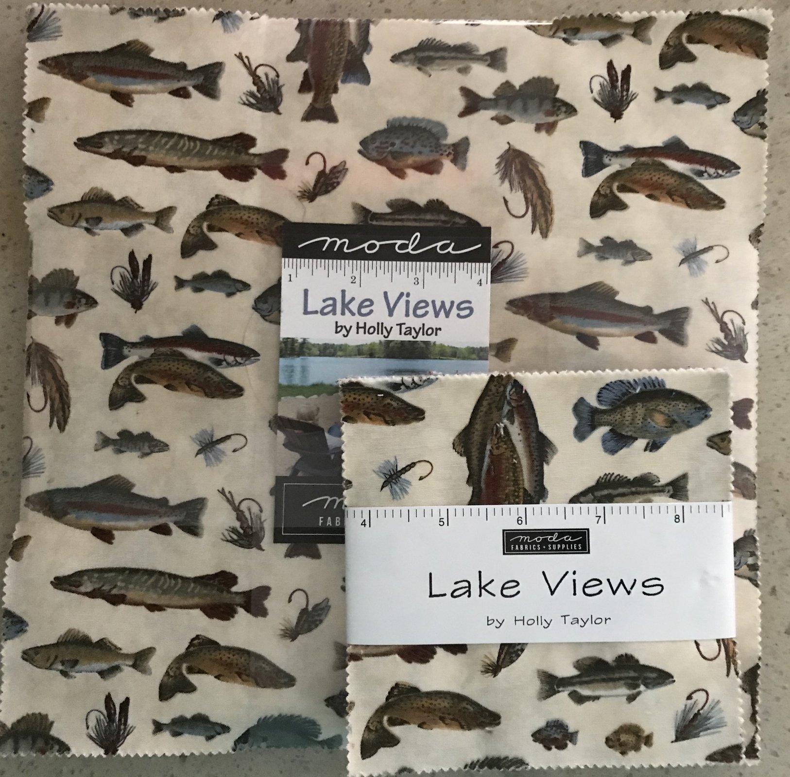 Lake Views Layer Cake