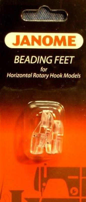 Janome Beading Feet for Horizontal Rotary Hook Models