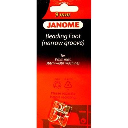 Janome Beading Foot (Narrow)