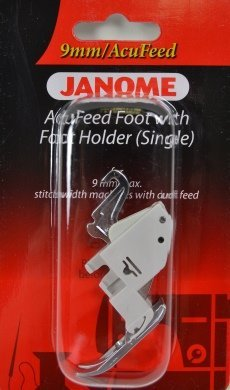 Janome AcuFeed Foot with Foot Holder (Single)