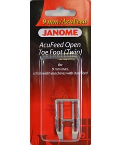 Janome AcuFeed Open Toe Foot