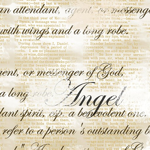 INV Heaven Sent Angel Script Tan