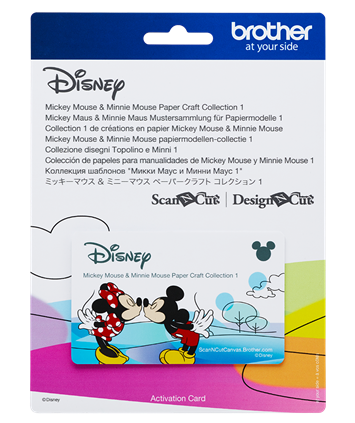 Disney Mickey & Minnie Mouse Paper Craft Collection 1