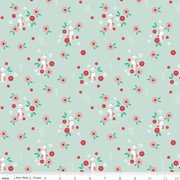 Rose Lane Cat Floral Mint