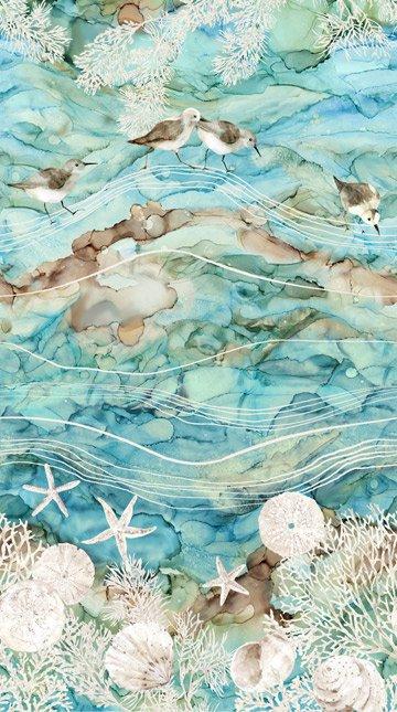 White Sands-Turq-Birds