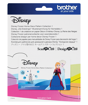 Disney Frozen Home-Deco Pattern Collection 1