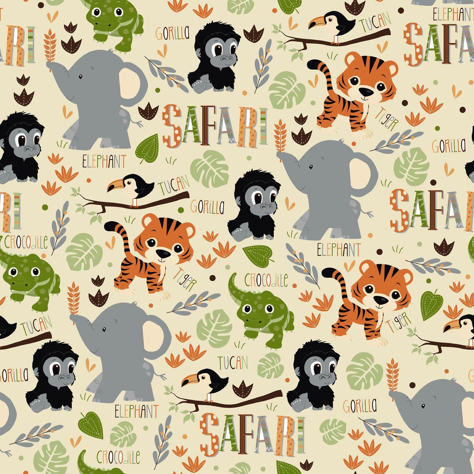Fun Flannel - Patt Safari