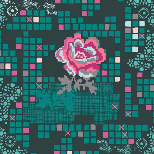 Rose Circuit Teal GRI-50409