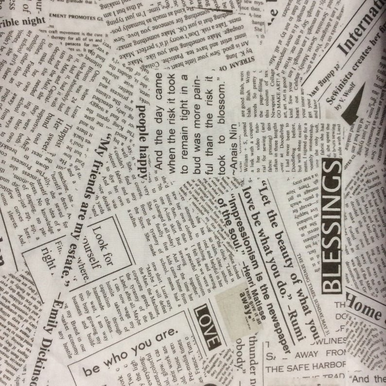 Windham  Newsprint 108