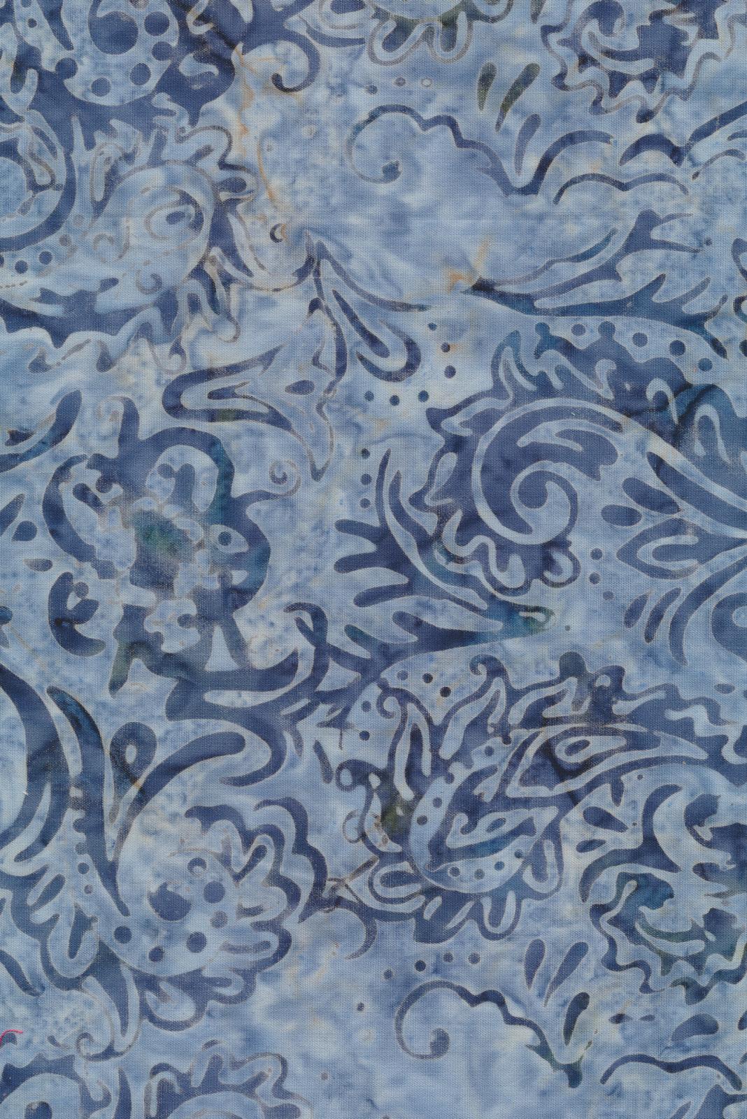 Majestic Batik - Indigo 463