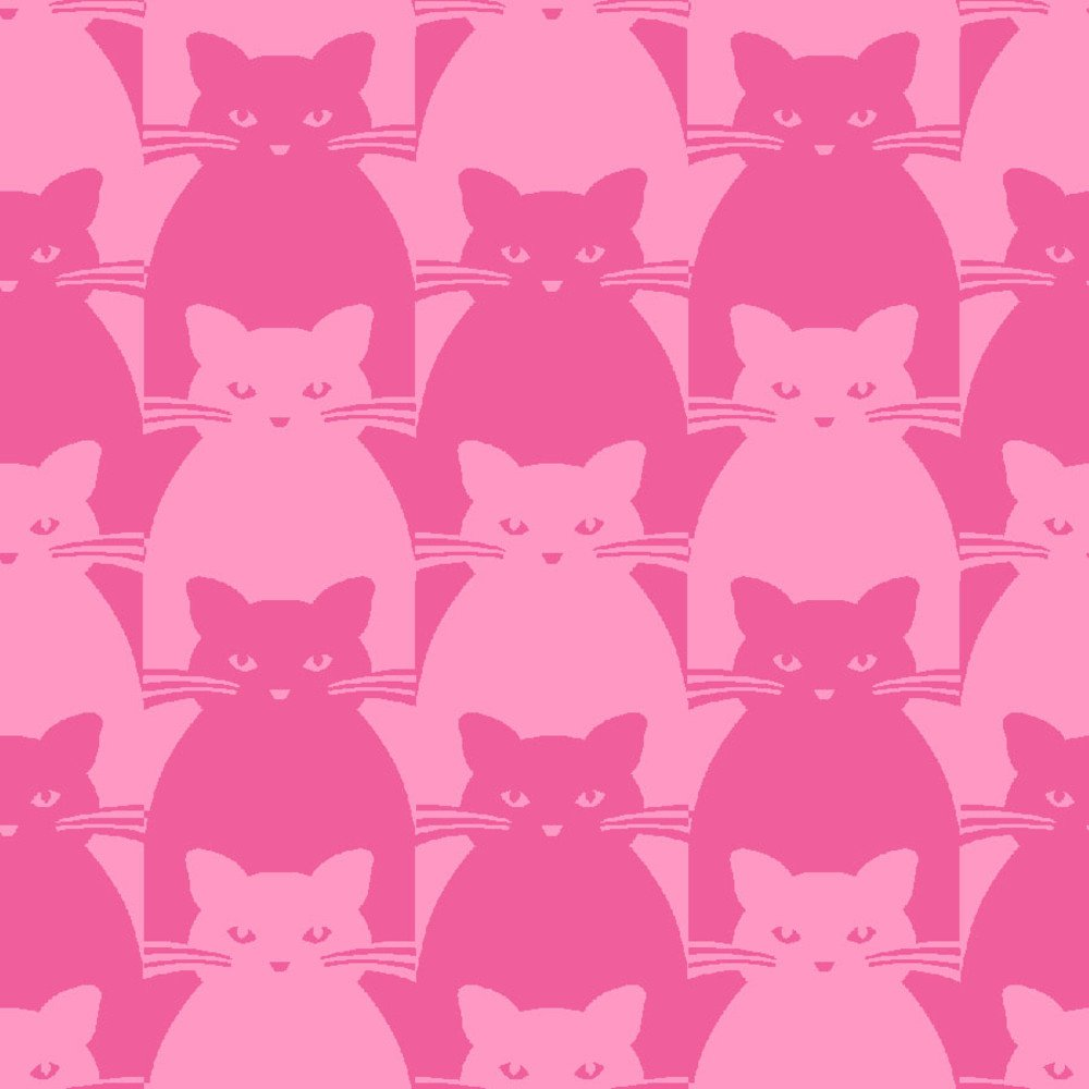 Blank Quilting Co. Kitty Kitty Pink